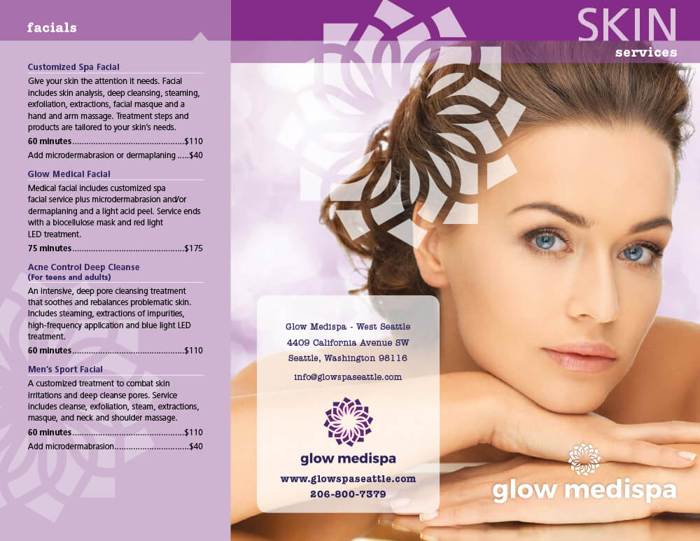 Skin Services Pricing West Seattle, Seattle WA