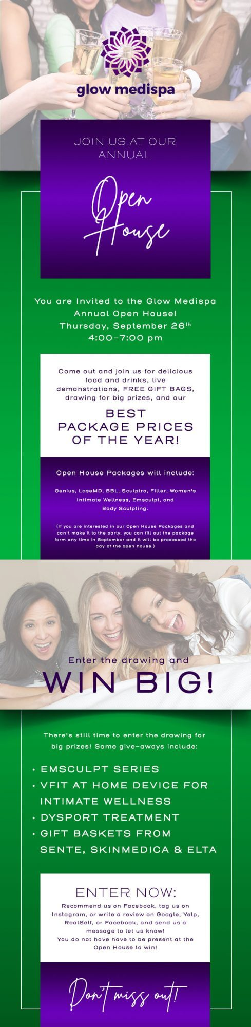 , Join us for our Annual Open House!
